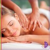 clínica com massagem corporal pacote Aclimação