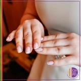 manicure para noiva valor Aclimação