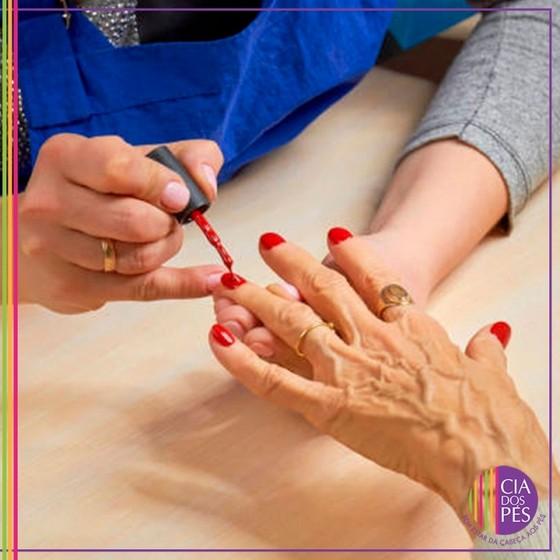 Manicure para Idosas Mais Próximo Ipiranga - Salão com Manicure