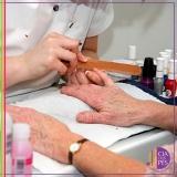 manicure para idosas Aclimação