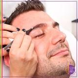 micropigmentação sobrancelha masculina Aclimação